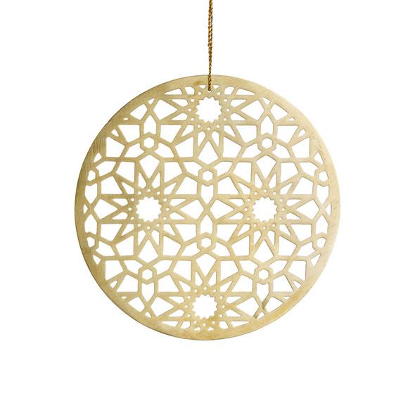 HANG ON Metall Ornament 12cm Design 2