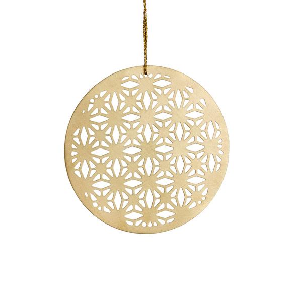 HANG ON Metall Ornament 7cm Design 3