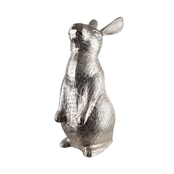 EASTER Metall Hase stehend 49cm