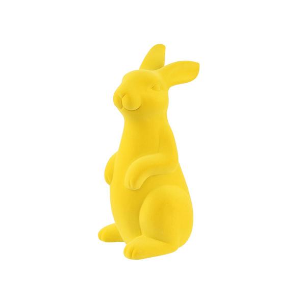 EASTER Deko Hase 28cm gelb