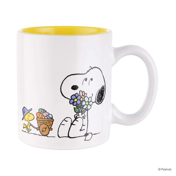 PEANUTS Tasse Snoopy Blumen 330 ml