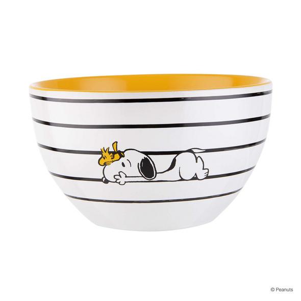 PEANUTS Schale Snoopy Streifen