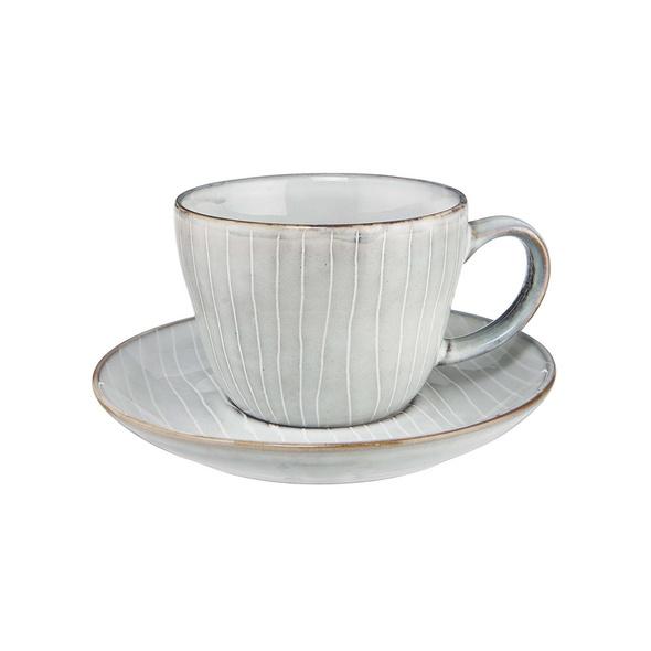 HENLEY Kaffeetasse mit Untertasse