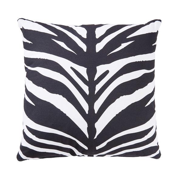 SAFARI LODGE Kissen, 45x45 cm, Zebra