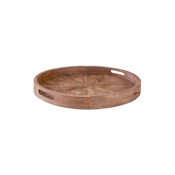 MANGO DAYS Holztablett rund Ø 40 cm