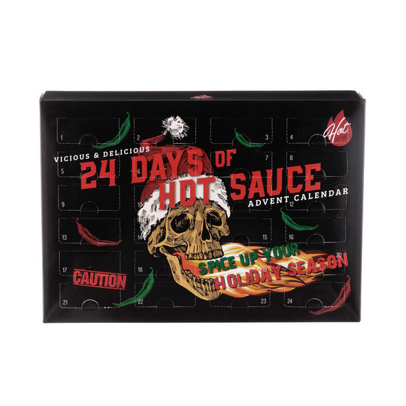 24 DAYS OF HOT SAUCE Adventskalender