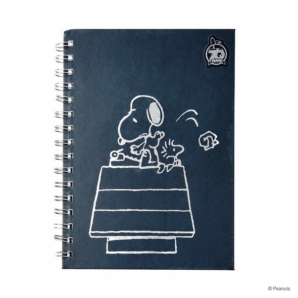PEANUTS Notizbuch Snoopy Typewriter