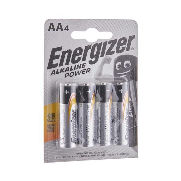 ENERGIZER Alkaline POWER Batterien AA4er
