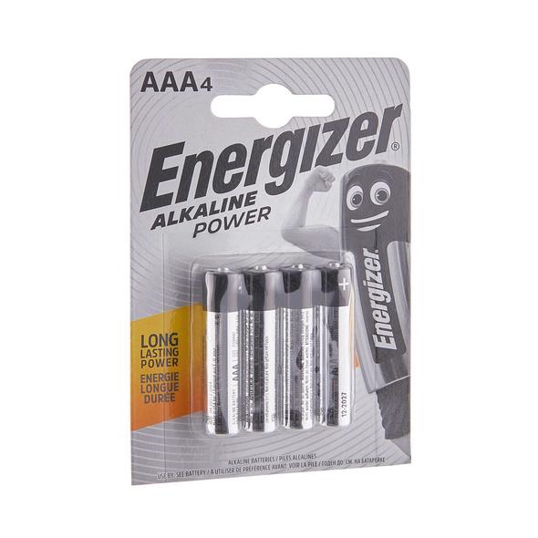 ENERGIZER Batterien POWER 4er Set AAA 1,