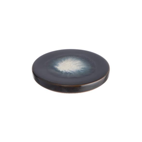 COSMOS Keramik Untersetzer schwarz