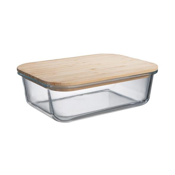 NATURALS Lunchbox m Bambusdeckel 1,5 l