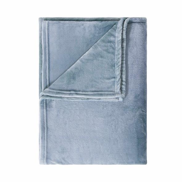 LAZY DAYS Fleecedecke blau 150x200 cm