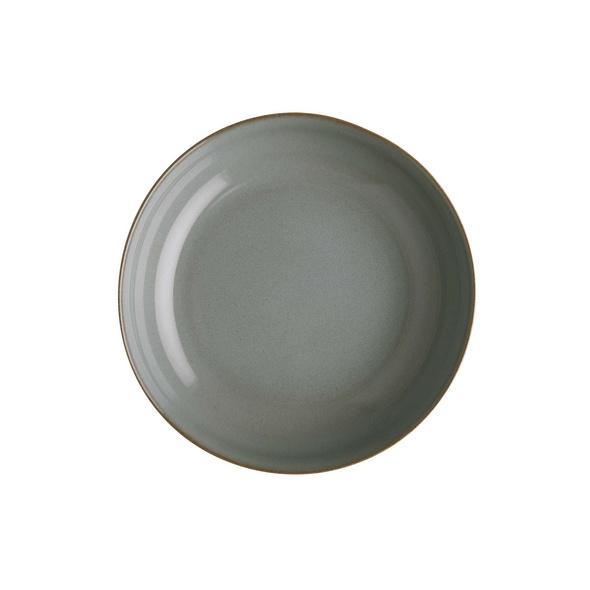 NATIVE Tiefer Teller Ø 21,5 cm grau