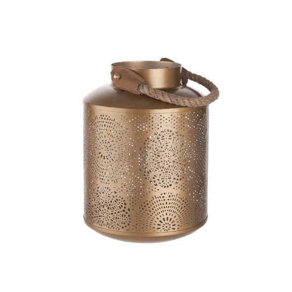 ORIENTAL LOUNGE Laterne 25cm, gold