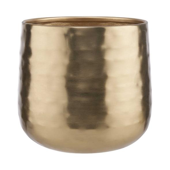 PLANTA Metall Übertopf Ø16cm, gold