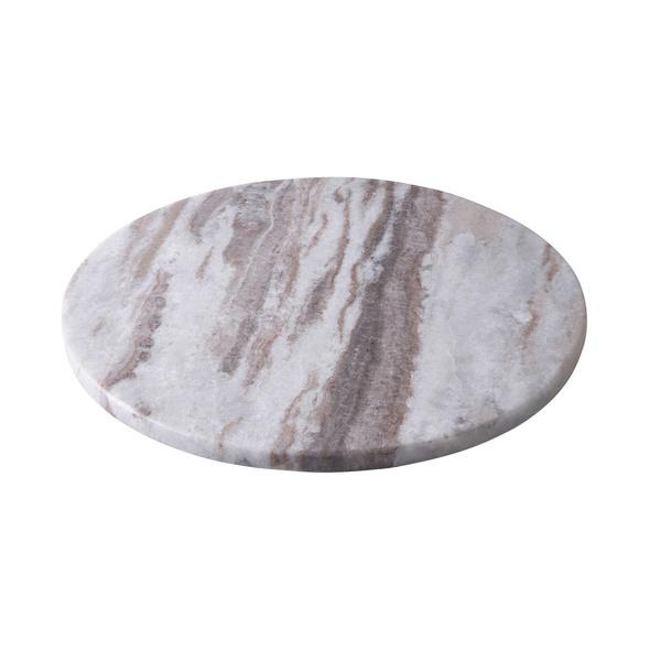 MARBLE Marmorplatte Ø 30 cm sand