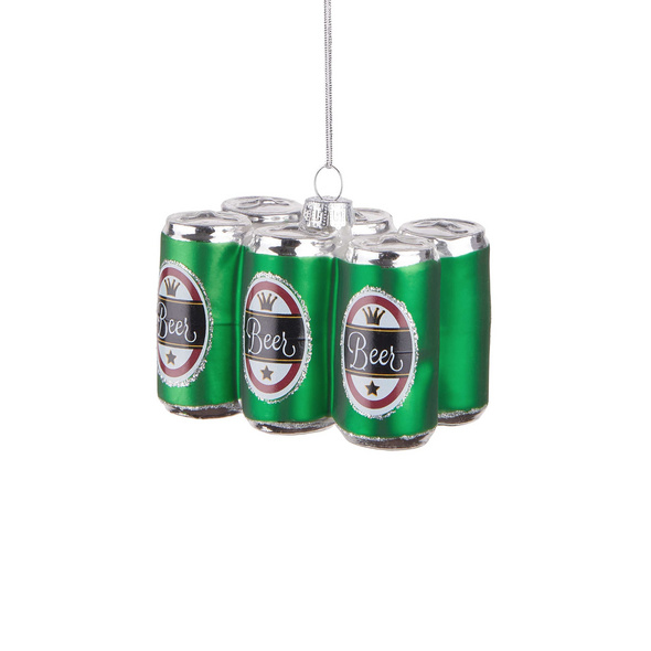 HANG ON  Glas Ornament Sixpack