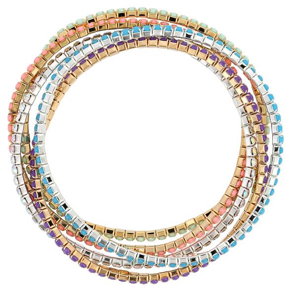 Armband-Set - Sparkling Colours