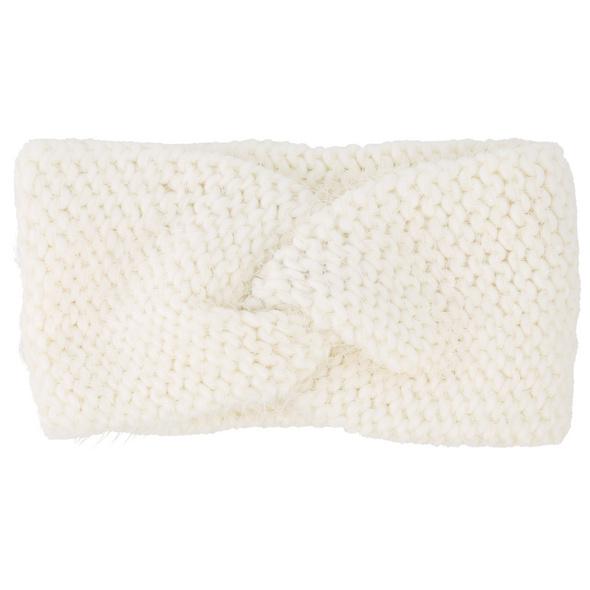 Stirnband - White Warmth
