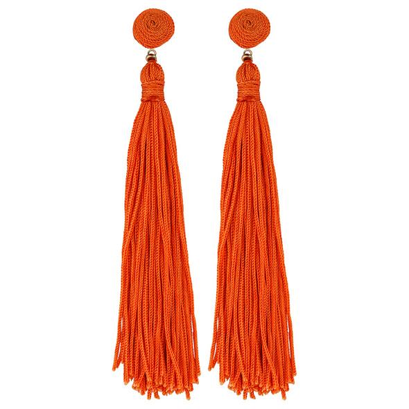 Ohrstecker - Trendy Orange