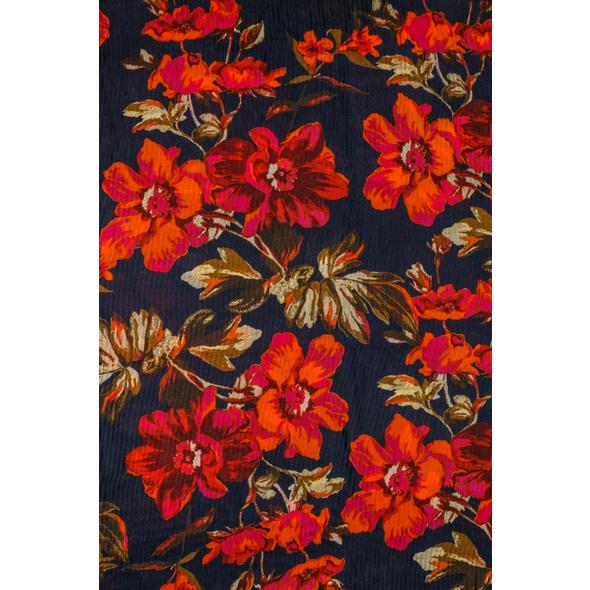 Tuch - Dark Floral