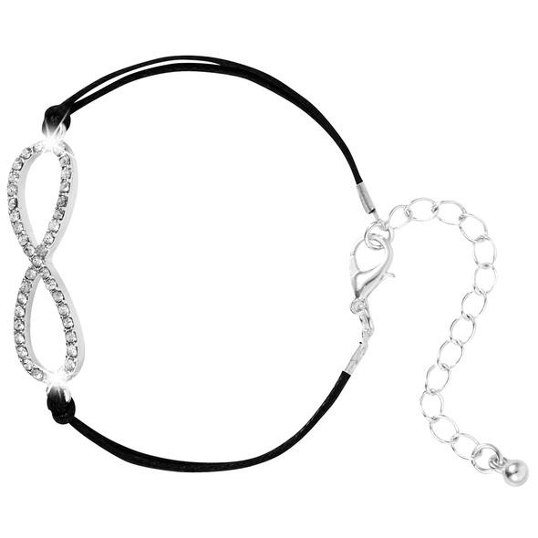 Armband - Black Infinity