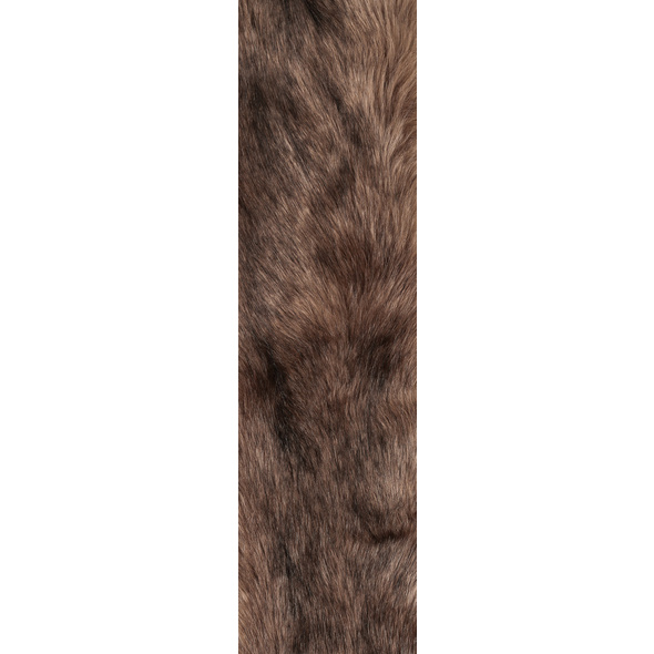Schal - Brown Fur