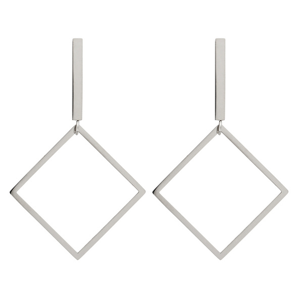 Ohrstecker - Shiny Steel