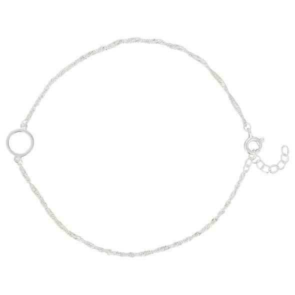 Fußkettchen - Fine Round Circle