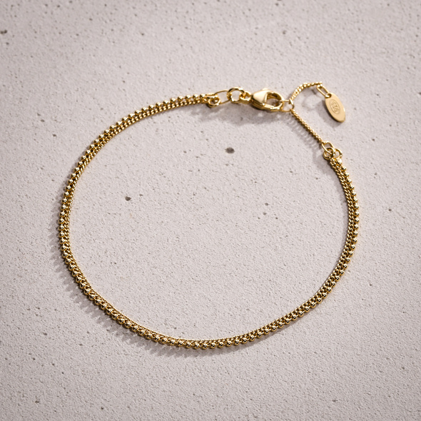 Armband - Festive Gold