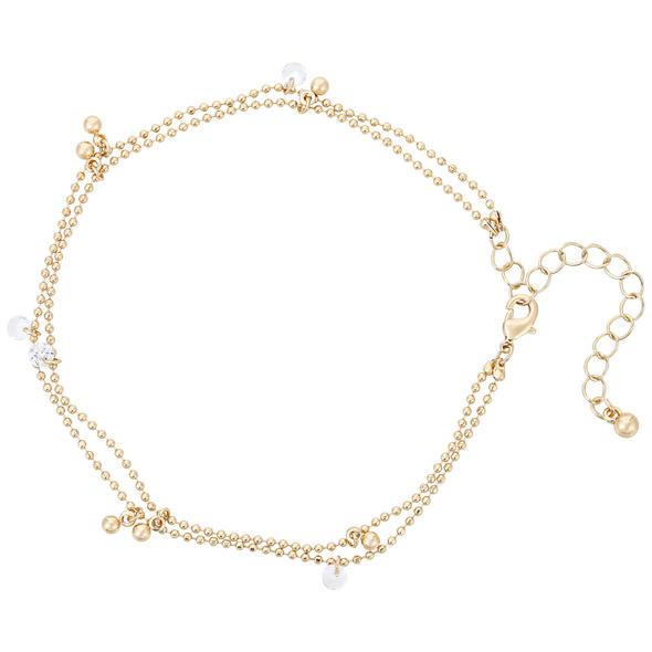 Fußkettchen - Cubic Pearls