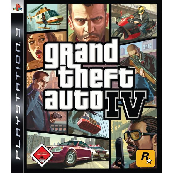 Rockstar Games Grand Theft Auto IV