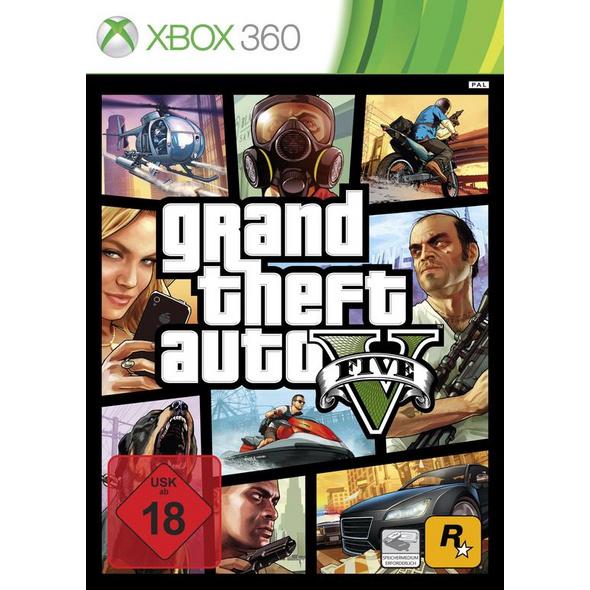 Rockstar Games Grand Theft Auto V (100% UNCUT)