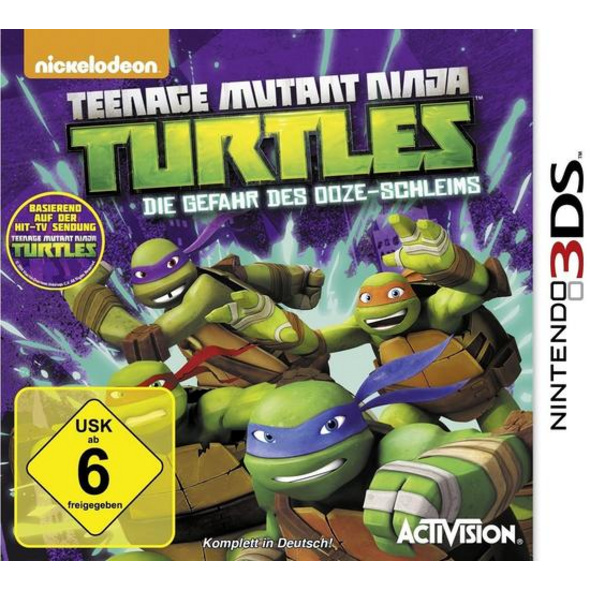 Teenage Mutant Ninja Turtles - Die Gefahr des Ooze-Schleims
