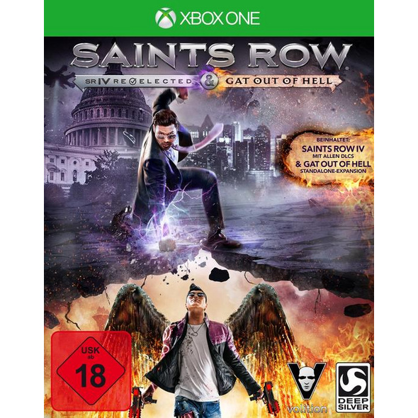 Saints Row 4 inkl. Gat out of Hell (Add-on) First Edition