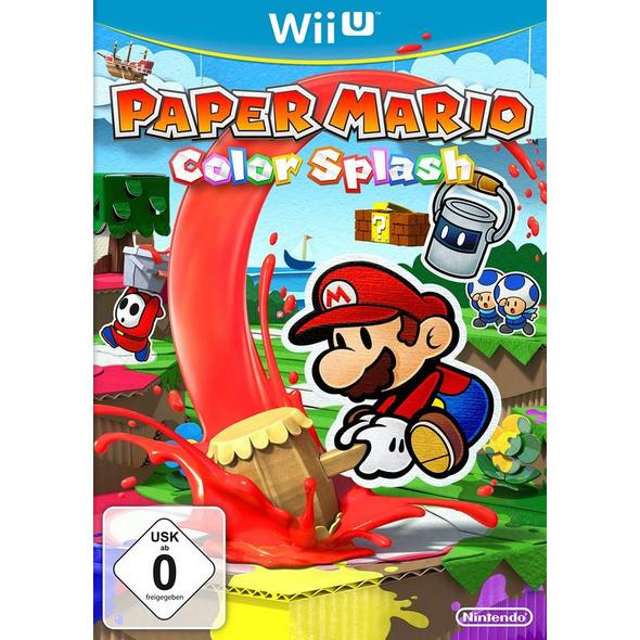 Nintendo Paper Mario Color Splash