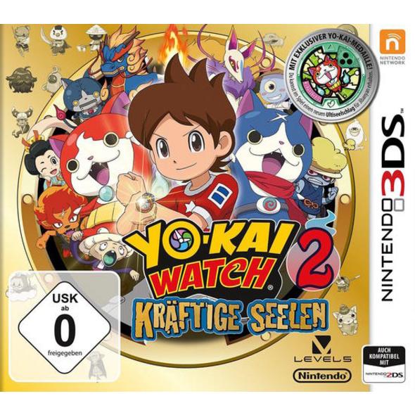 YO-KAI Watch 2 - Kräftige Seelen inkl. Medaille