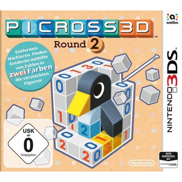Nintendo Picross 3D: Round 2