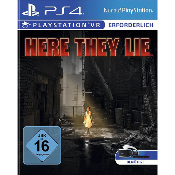 PlayStation VR Here They Lie