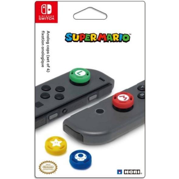 Nintendo Switch Super Mario Analog Caps