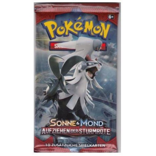 Pokémon Sammelkartenspiel: Sonne & Mond Aufziehen der Sturmröte Booster Pack