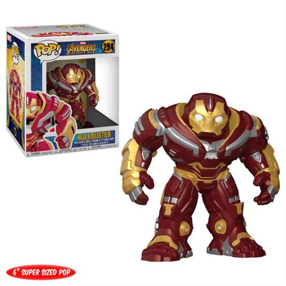 Marvel Avengers Infinity War - POP! Vinyl-Figur Hulkbuster (Super Size)