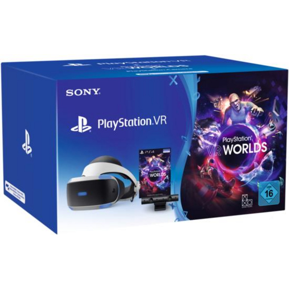 PlayStation VR + Camera  + VR Worlds (neues Modell)