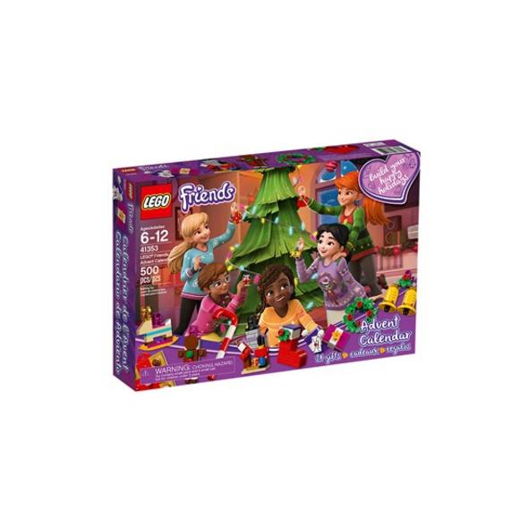 LEGO® Friends Adventskalender mit Weihnachtsschmuck - 41353