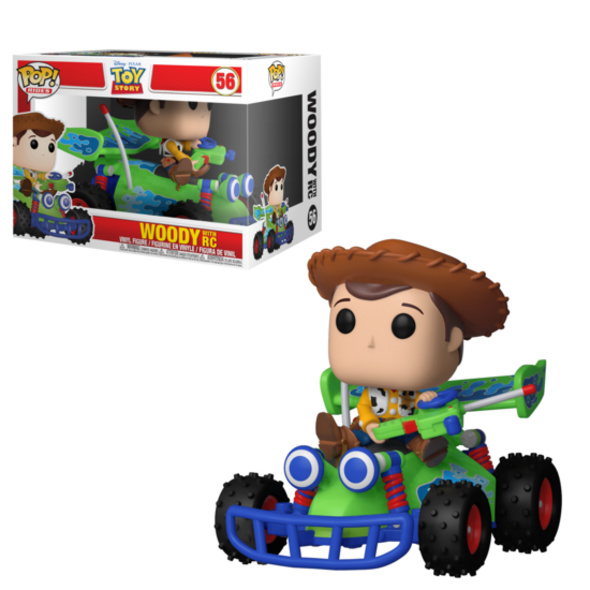 Toy Story - POP!-Vinyl Figur Woody with RC
