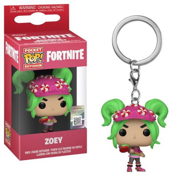 Fortnite - Pocket POP! Schlüsselanhänger Zoey
