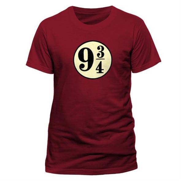 Harry Potter - T-Shirt Platform 9 3/4 (Größe L)