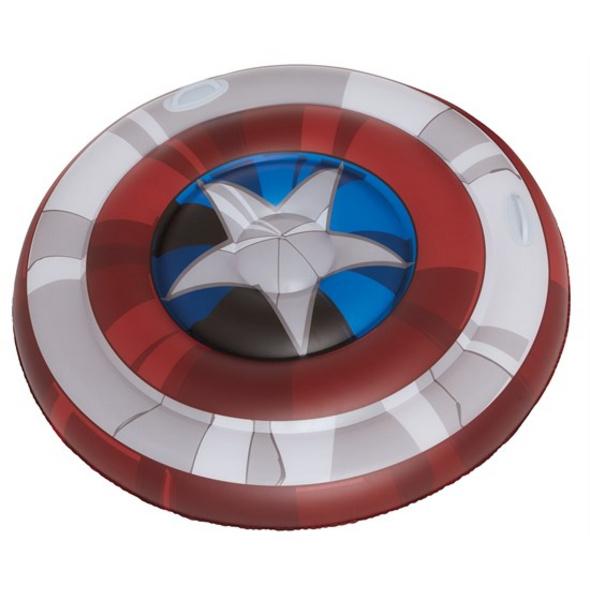 Marvel Captain America - Luftmatratze Schild