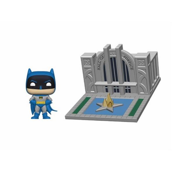 Batman - POP!-Vinyl Figur Halle der Gerechigkeit