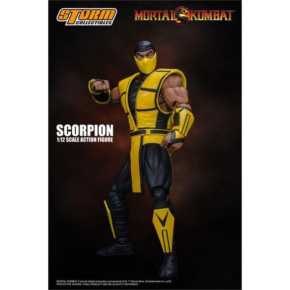 Mortal Kombat - Actionfigur  Scorpion